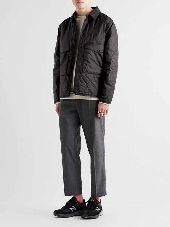 Aspesi Quilted Padded Ripstop Jacket
