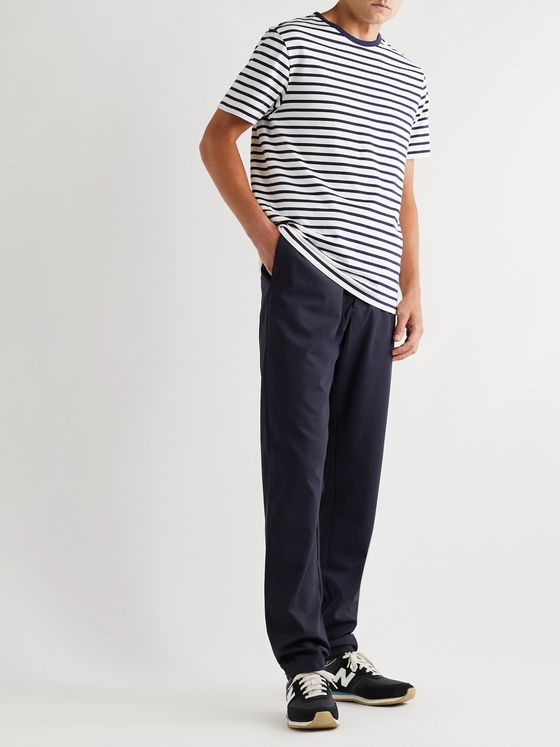 Aspesi Stretch Tech-Jersey Drawstring Trousers