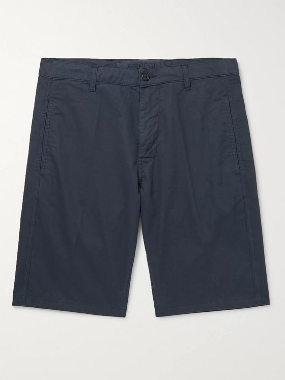 Aspesi Cotton-Twill Shorts