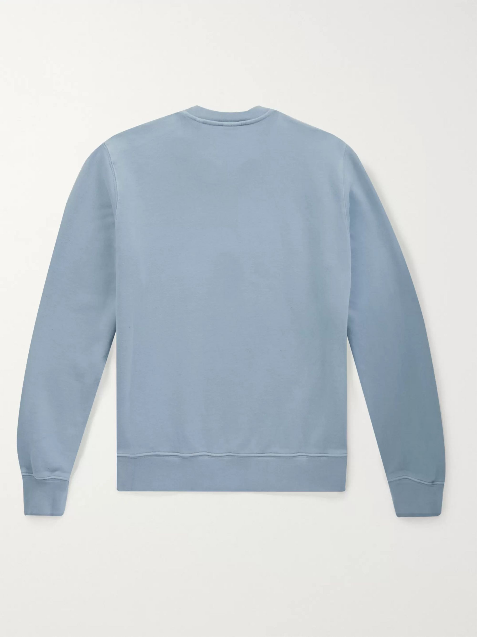Aspesi Loopback Cotton-Jersey Sweatshirt