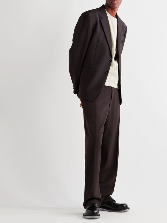 BOTTEGA VENETA Mohair and Wool-Blend Suit Jacket