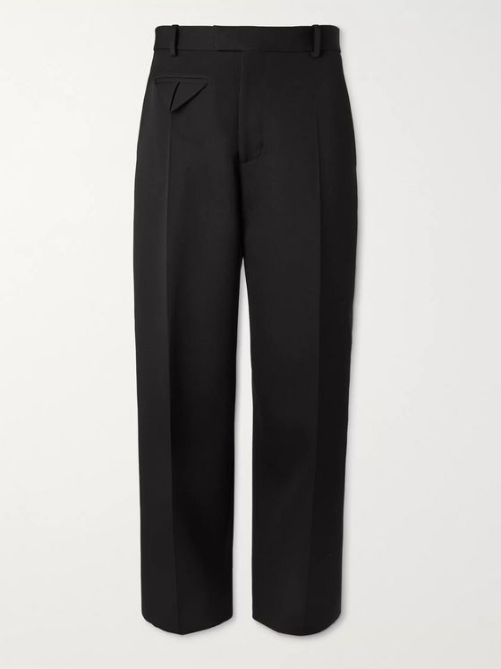 BOTTEGA VENETA Wide-Leg Wool Trousers