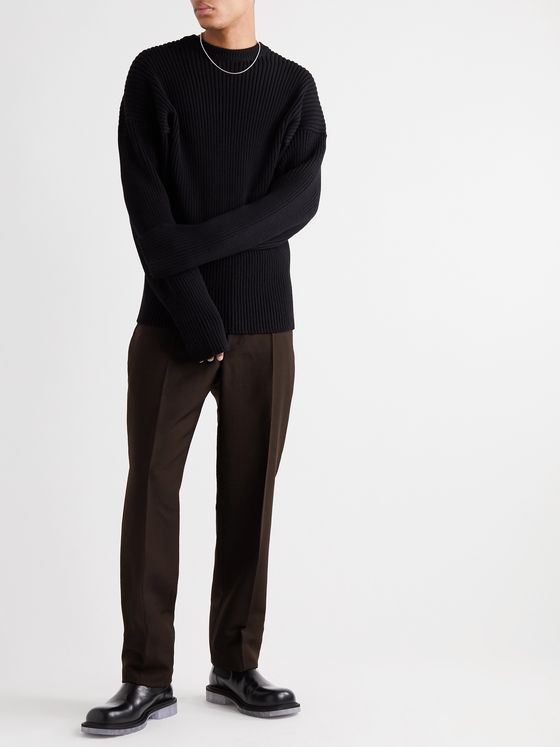 BOTTEGA VENETA Slim-Fit Woven Trousers