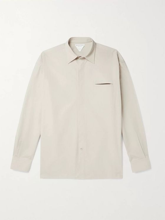 BOTTEGA VENETA Oversized Cotton-Poplin Shirt