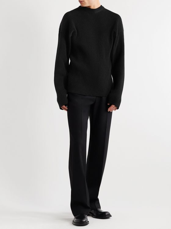 BOTTEGA VENETA Ribbed Wool-Blend Sweater