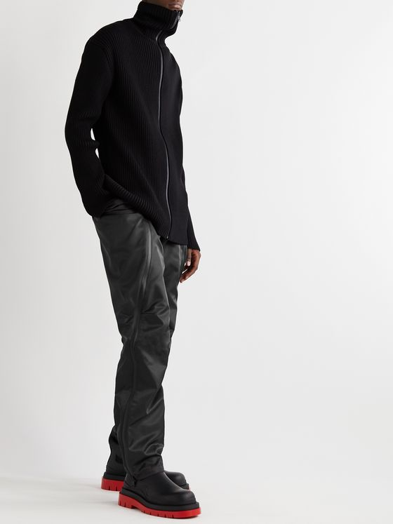 BOTTEGA VENETA Zip-Detailed Nylon-Gabardine Trousers
