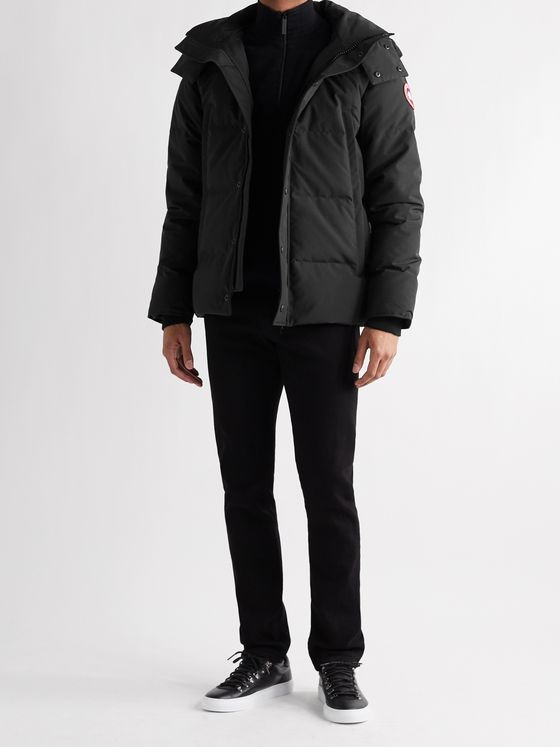 CANADA GOOSE Wyndham Slim-Fit Quilted Arctic Tech Down Hooded Parka