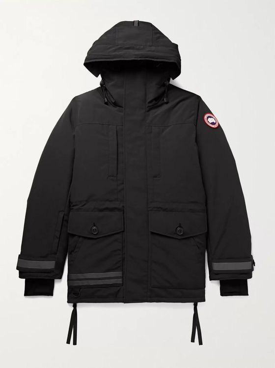 CANADA GOOSE Toronto Nylon Hooded Down Jacket