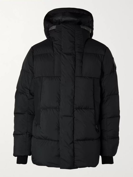 CANADA GOOSE Black Label Osborne Quilted Shell Down Parka