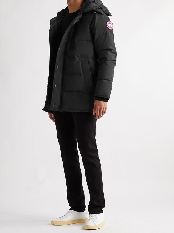 CANADA GOOSE Carson Slim-Fit Quilted Arctic Tech Down Hooded Parka