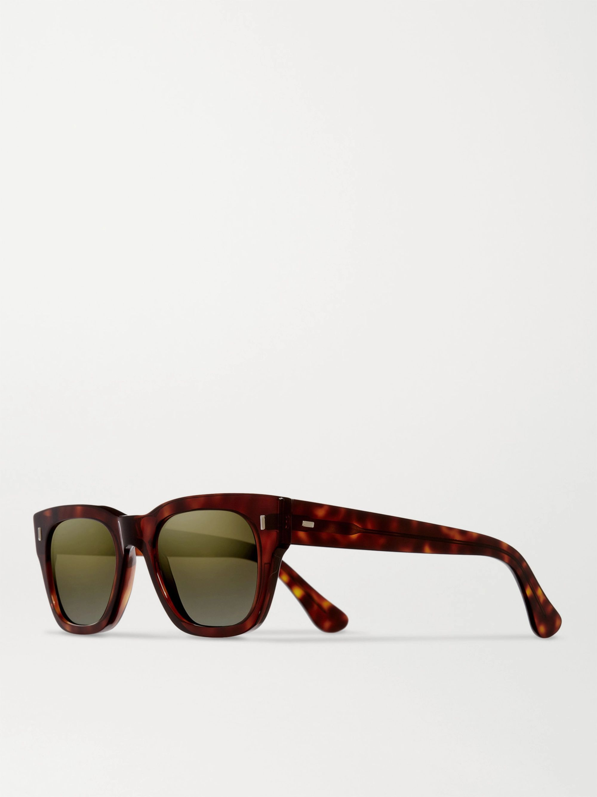 Cutler and Gross D-Frame Tortoiseshell Acetate Sunglasses