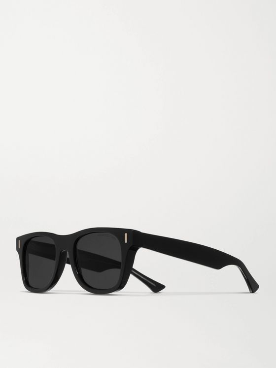 CUTLER AND GROSS Square-Frame Acetate Sunglasses