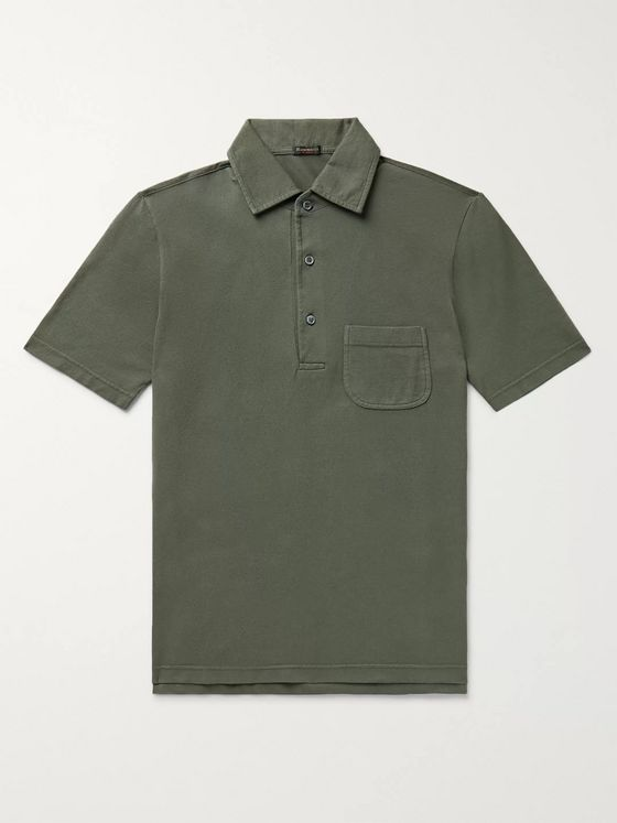 Rubinacci Cotton-Piqué Polo Shirt