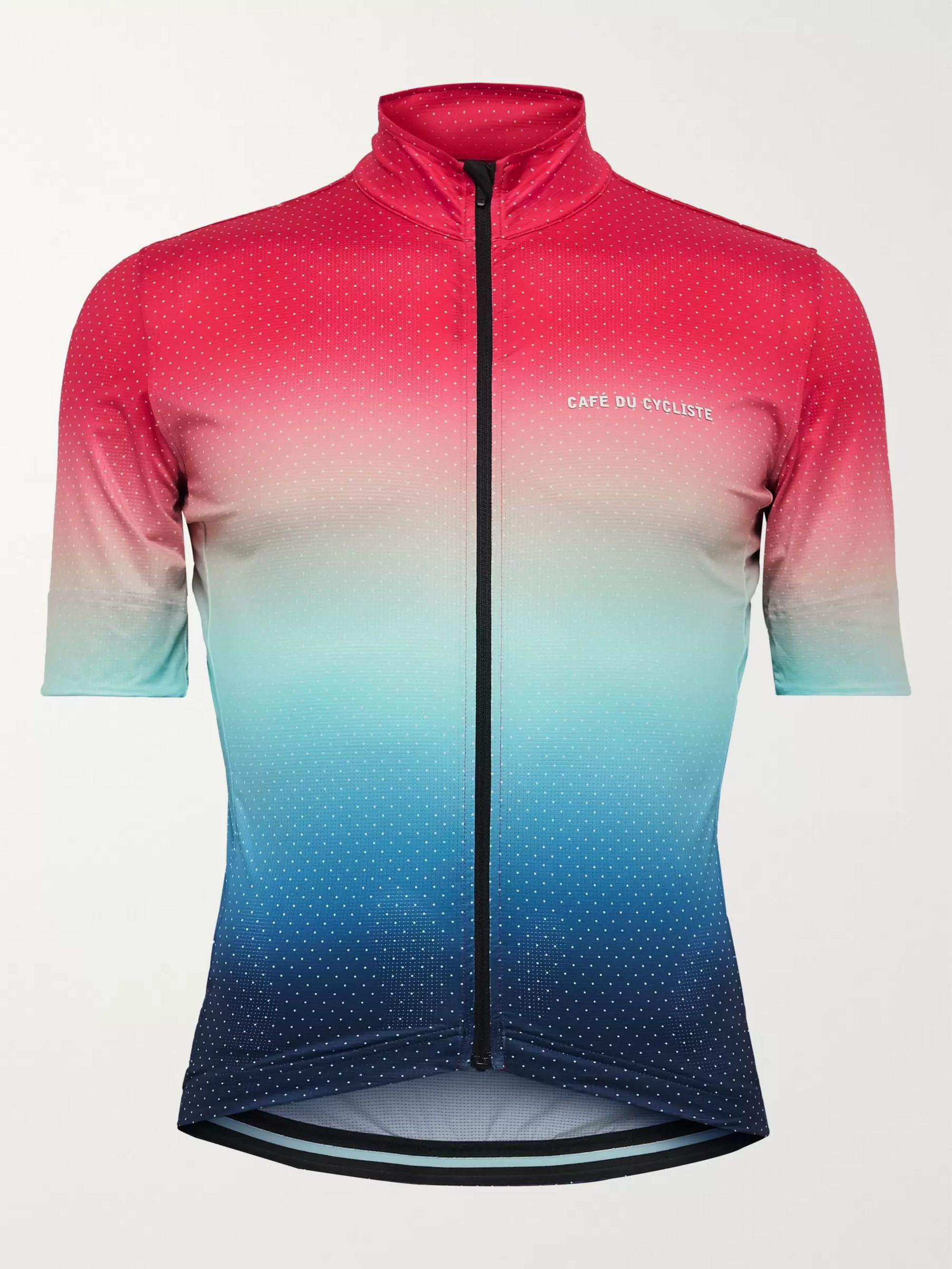 Cafe du Cycliste Fleurette Printed Cycling Jersey