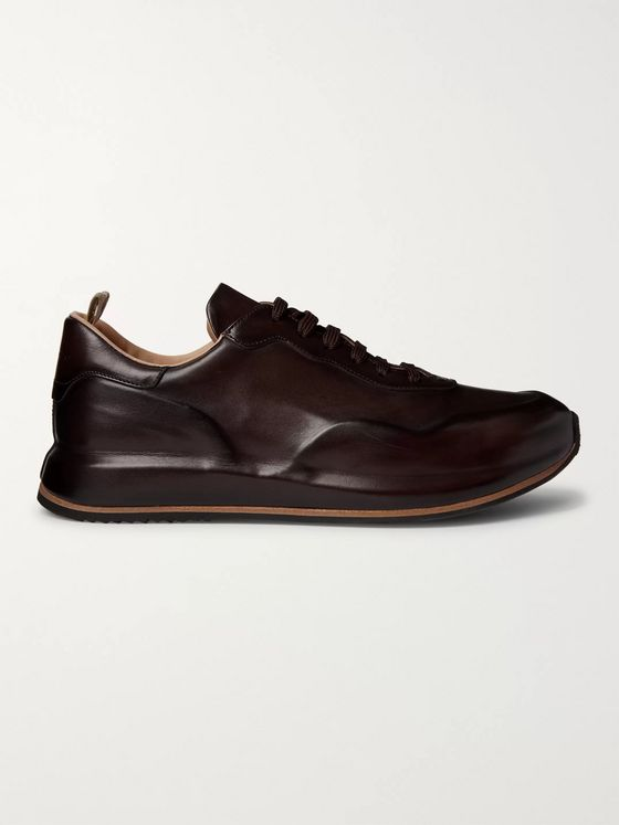 Officine Creative Race Lux Leather Sneakers