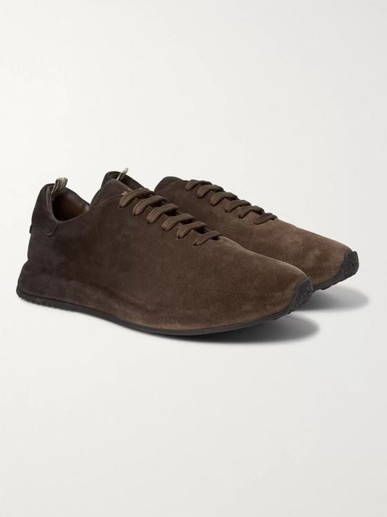 Officine Creative Race Dégradé Suede Sneakers