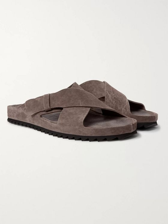 Officine Creative Oliver Suede Sandals