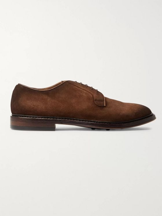 OFFICINE CREATIVE Hopkins Suede Derby Shoes