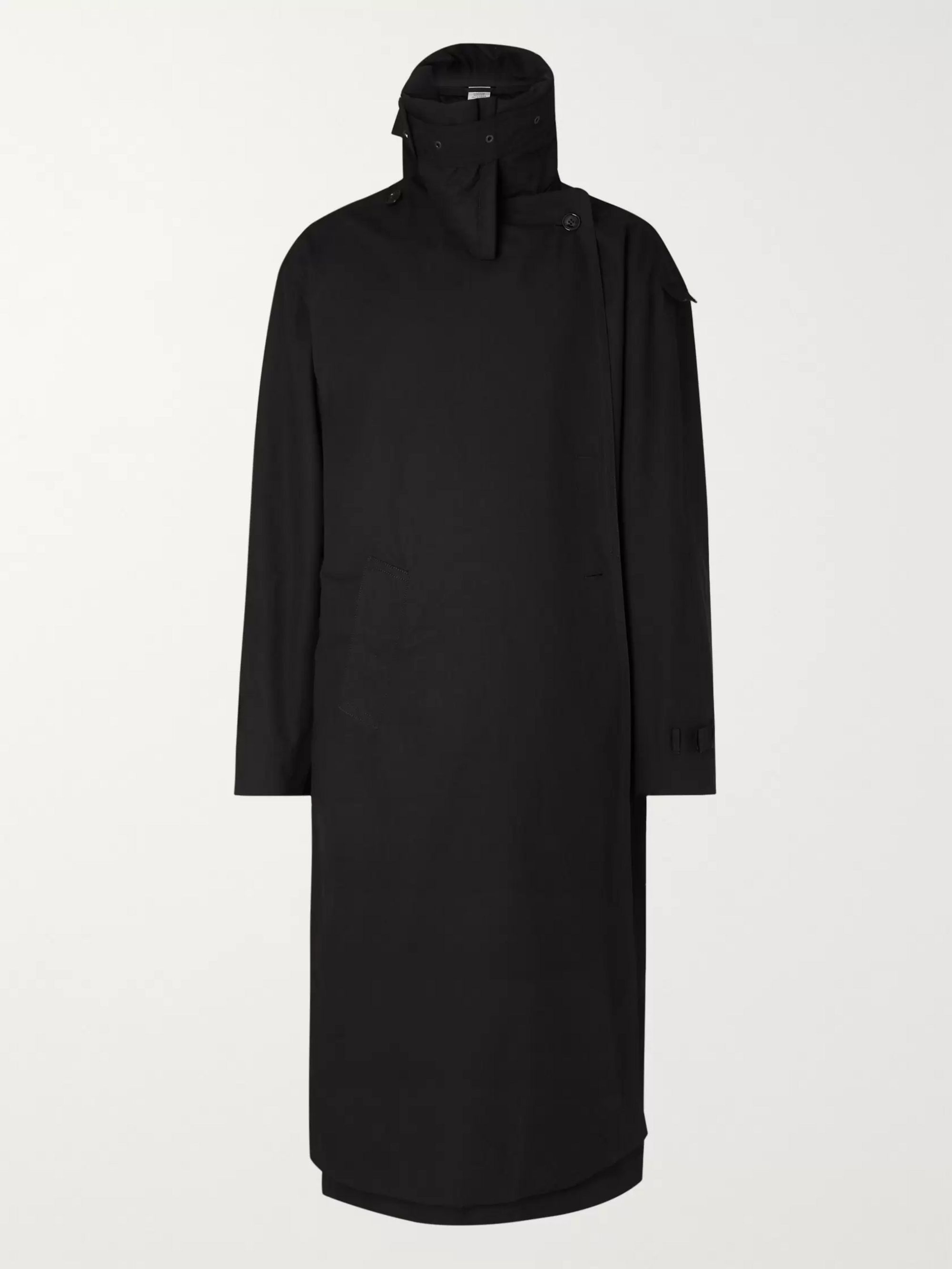 incognito-cotton-trench-coat by vetements