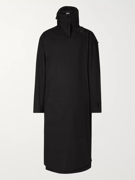 Vetements Incognito Cotton Trench Coat
