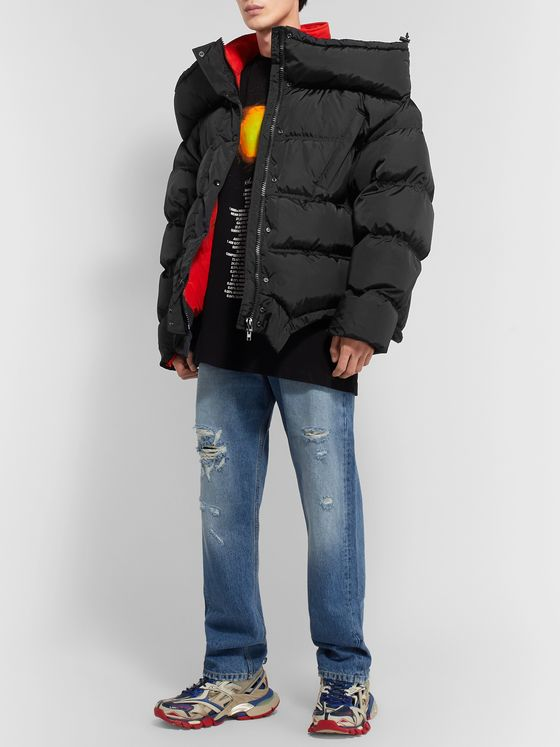 Vetements Oversized Quilted Shell Jacket
