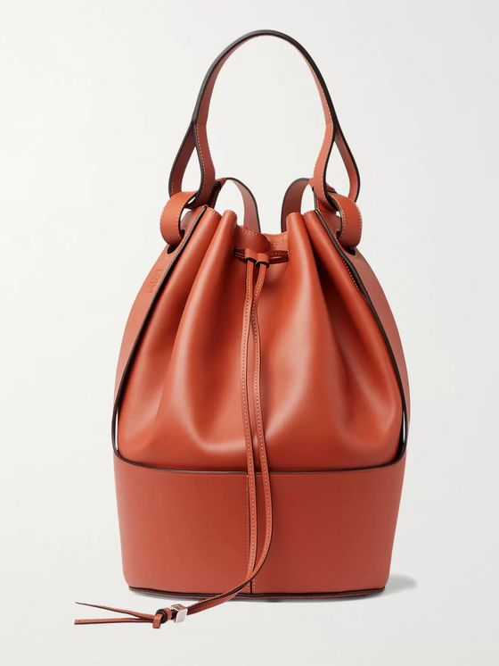 Loewe Leather Backpack