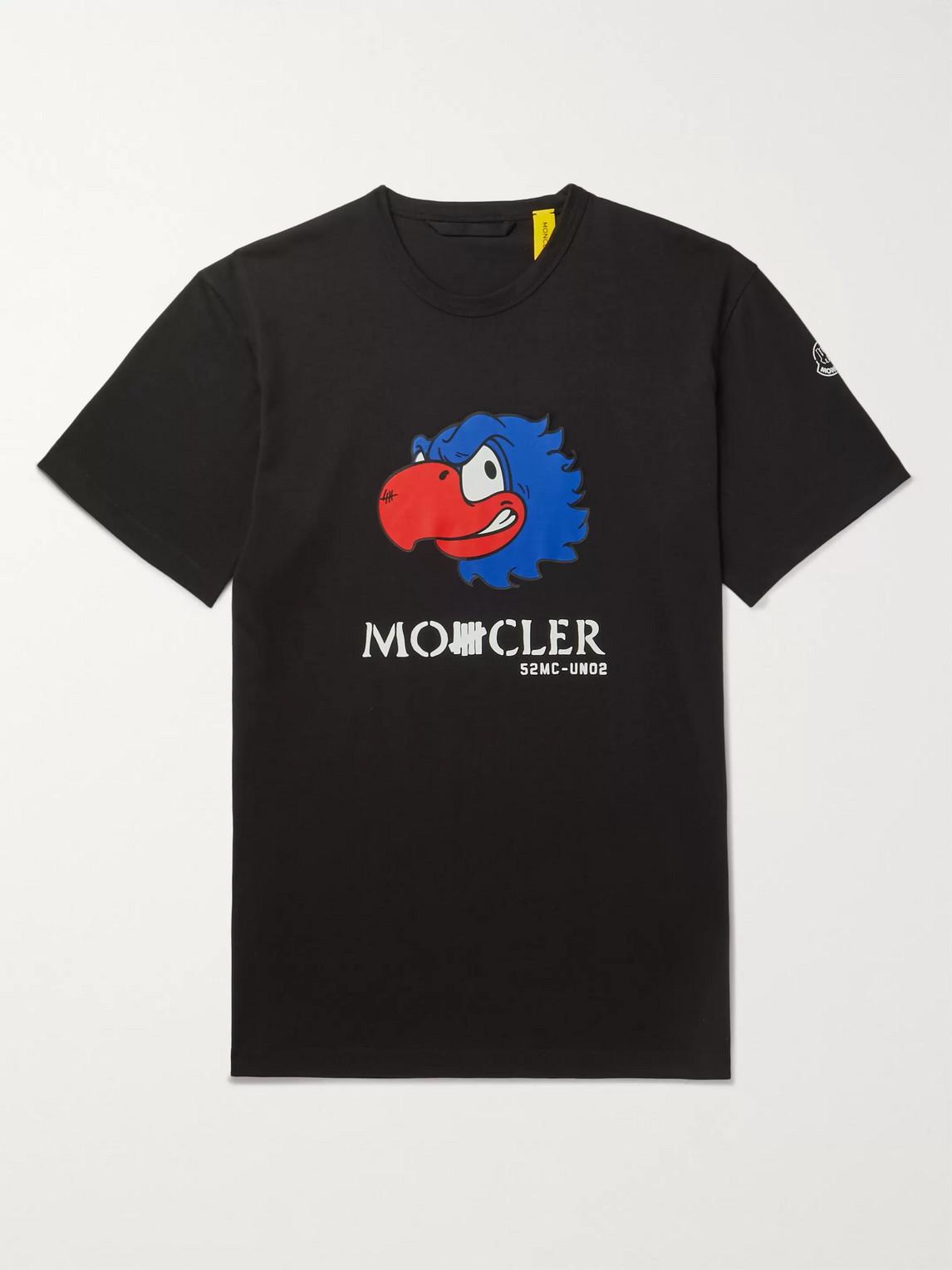Moncler Genius Cottons UNDEFEATED 2 MONCLER 1952 LOGO-PRINT COTTON-JERSEY T-SHIRT