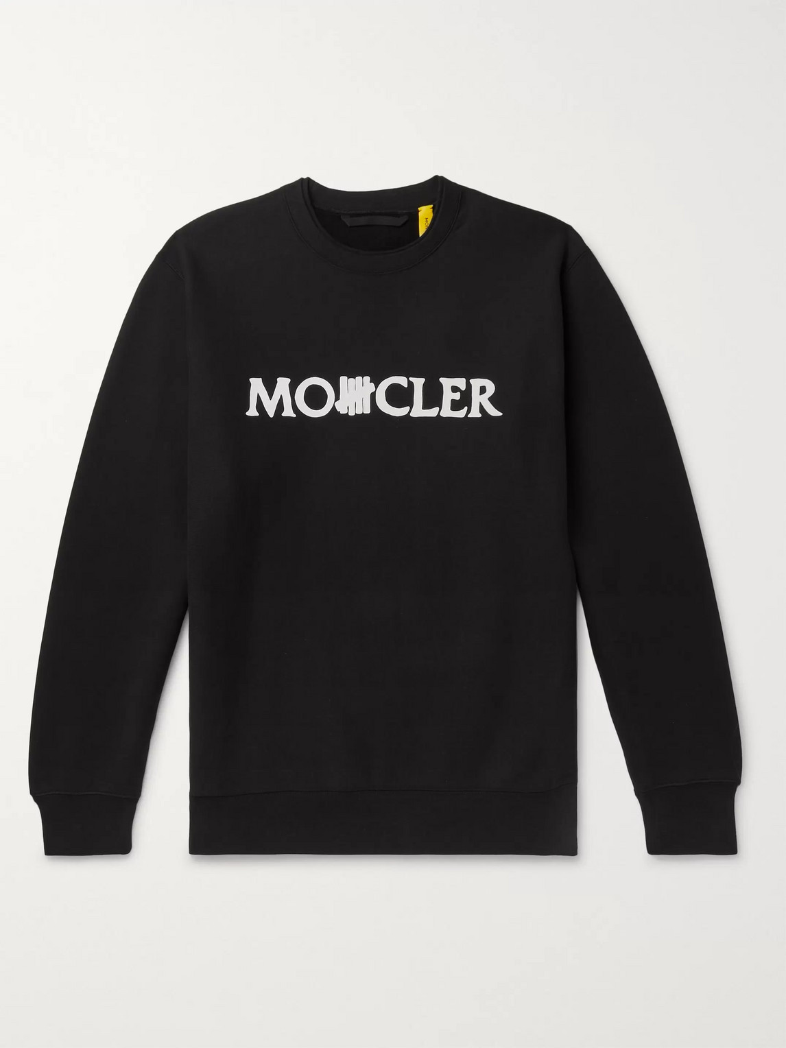 Moncler Genius Cottons UNDEFEATED 2 MONCLER 1952 LOGO-PRINT FLEECE-BACK COTTON-JERSEY SWEATSHIRT