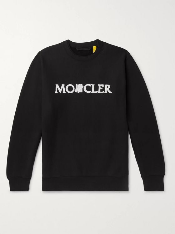 Moncler Genius + Undefeated 2 Moncler 1952 Logo-Print Fleece-Back Cotton-Jersey Sweatshirt