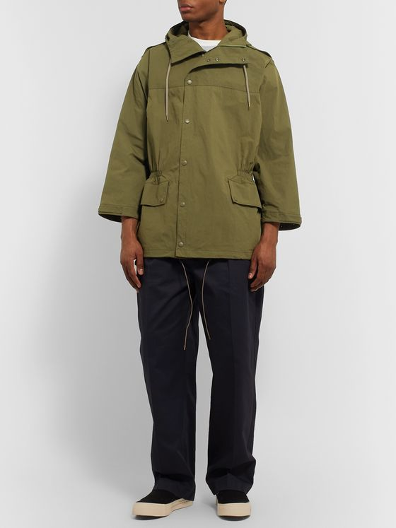 Chimala Nylon Hooded Parka