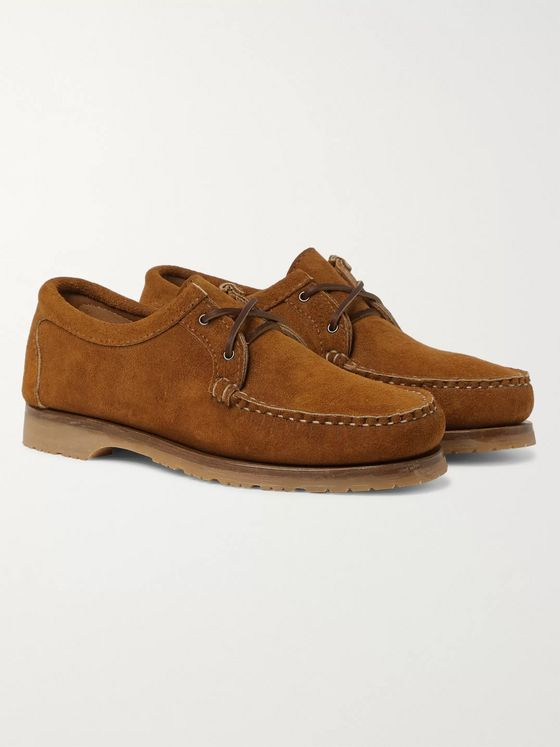 Quoddy Tukabuk II Suede Boat Shoes