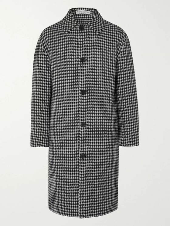 JW Anderson Houndstooth Wool Coat