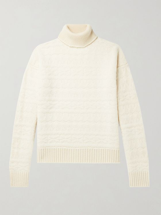 TAKAHIROMIYASHITA TheSoloist. Fair Isle Wool Rollneck Sweater