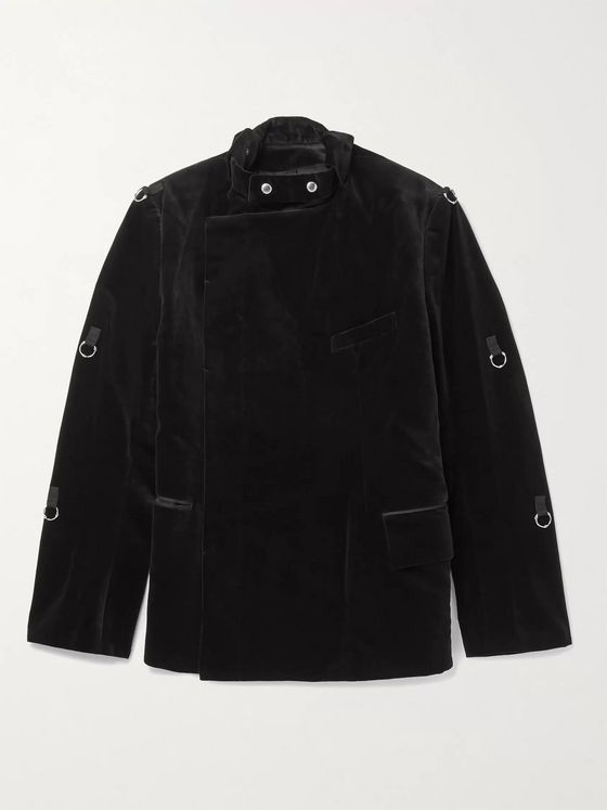 TAKAHIROMIYASHITA TheSoloist. Cotton-Velvet Jacket