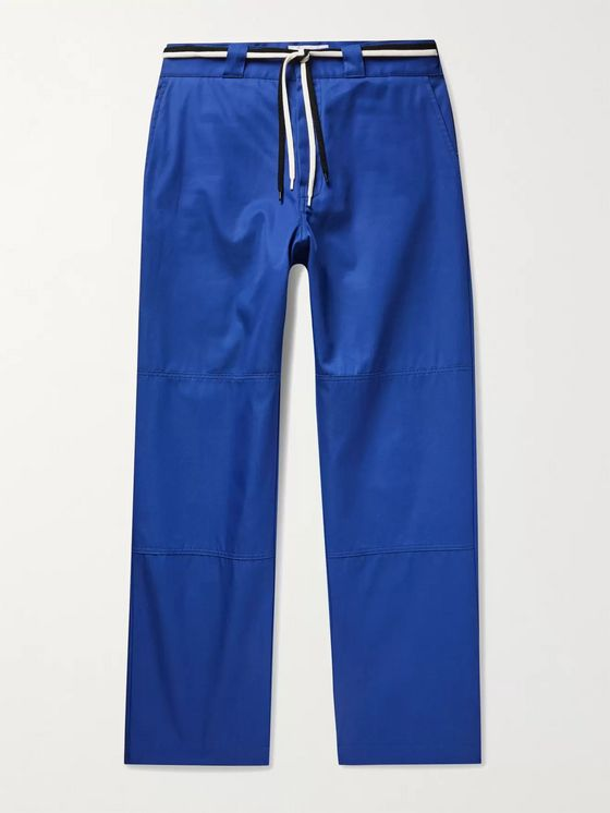 4SDesigns Cotton-Twill Drawstring Trousers