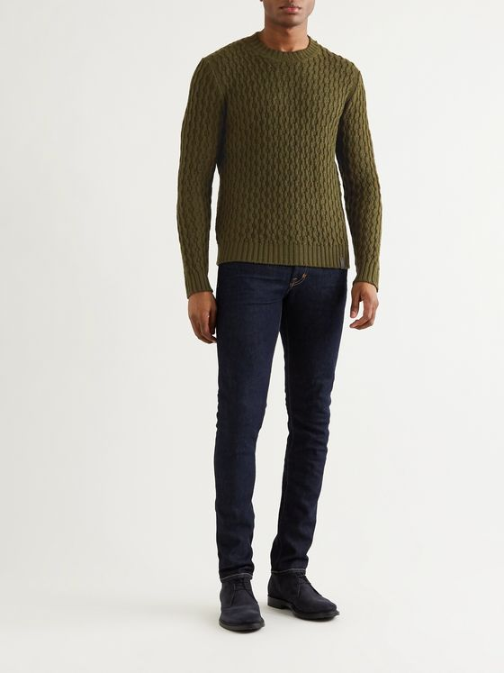 Tod's Textured-Merino Wool Sweater