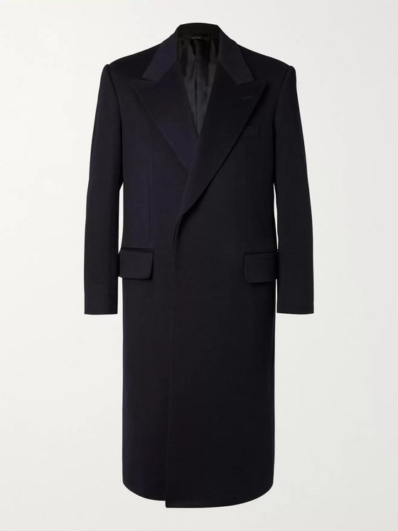 DUNHILL Wool and Cashmere-Blend Coat