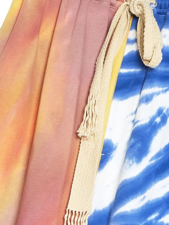 Loewe + Paula's Ibiza Tie-Dyed Cotton Drawstring Shorts