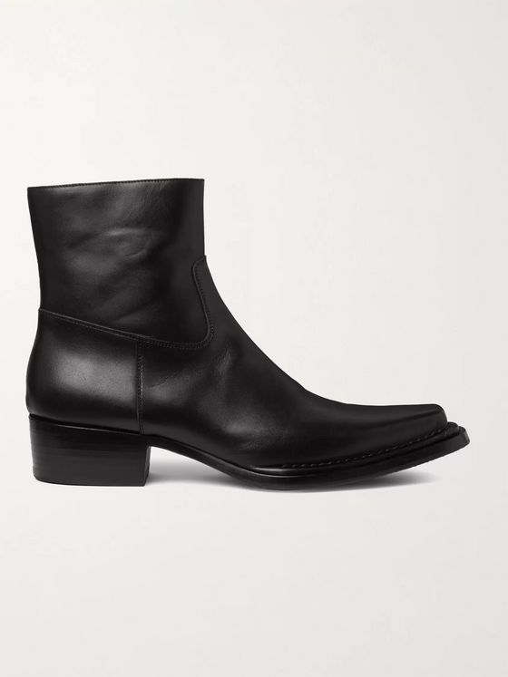 Acne Studios Bruno Leather Boots