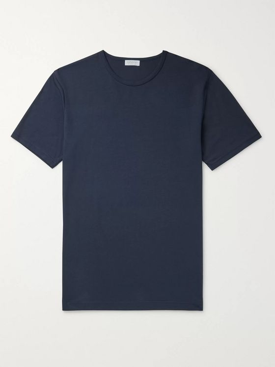 Sunspel Lounge Cotton and Modal-Blend Jersey T-Shirt