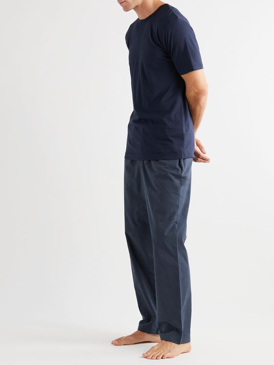 Sunspel Cotton Pyjama Trousers