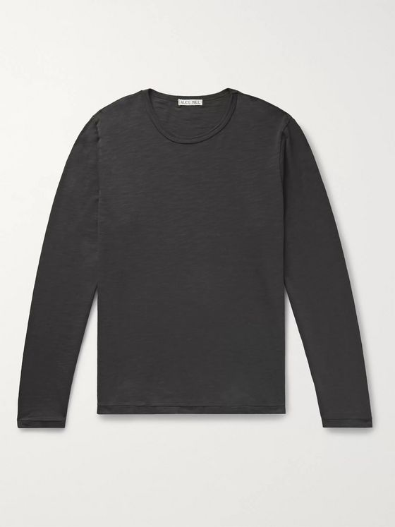 Alex Mill Standard Slub Cotton-Jersey T-Shirt