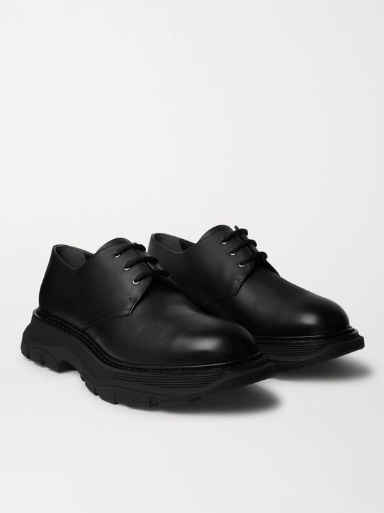 ALEXANDER MCQUEEN Leather Derby Shoes