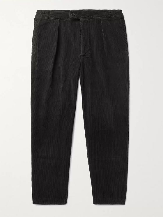 Barbour White Label Tapered Cotton-Corduroy Trousers