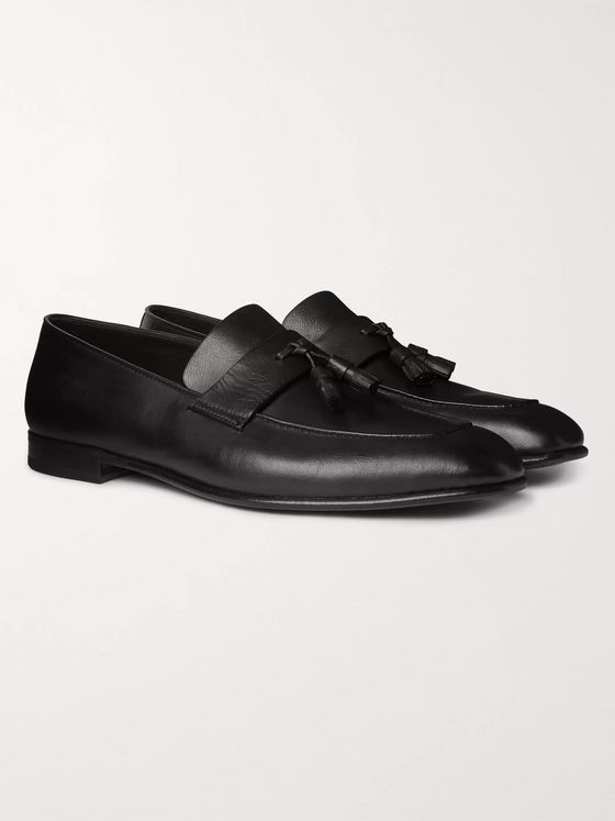 Ermenegildo Zegna Tasselled Leather Loafers