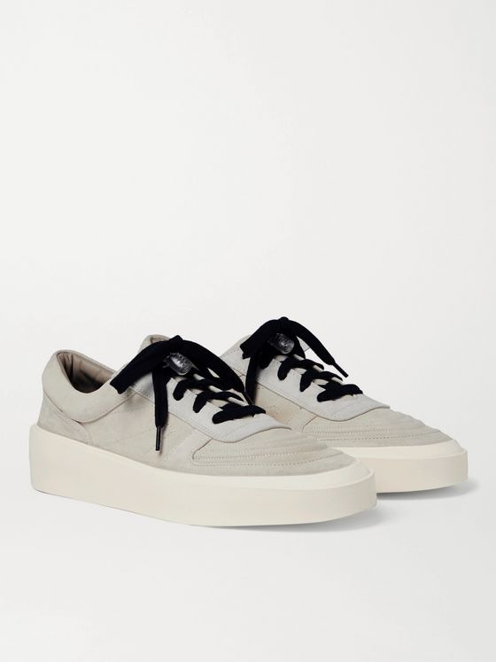 FEAR OF GOD Skate Low Suede Sneakers