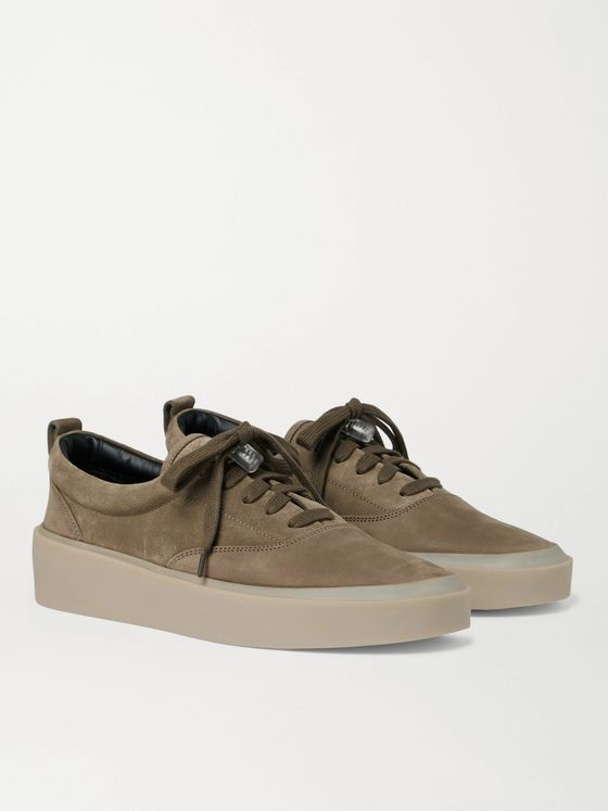 FEAR OF GOD 101 Suede and Nubuck Sneakers