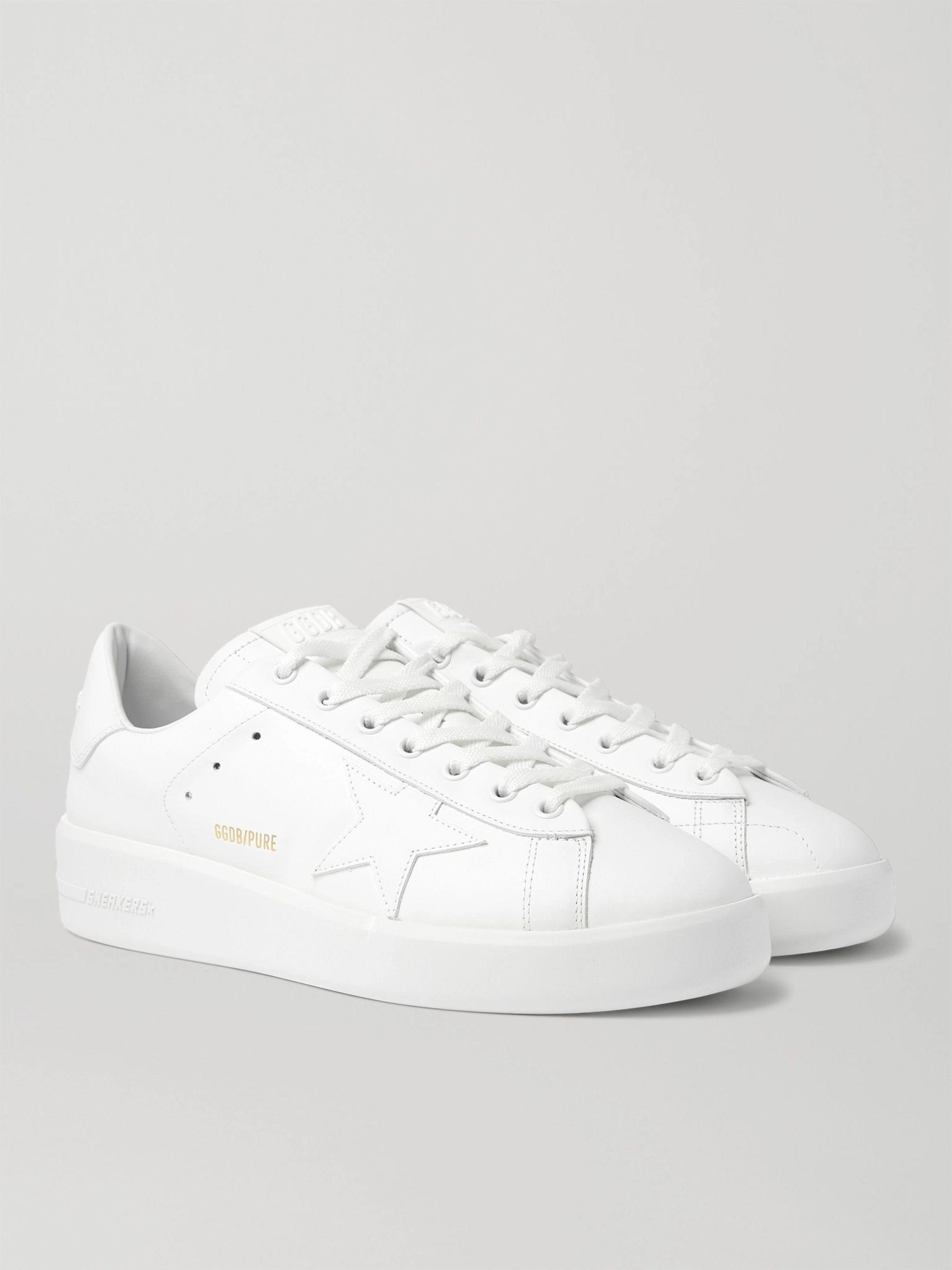 Golden Goose Purestar Leather Sneakers