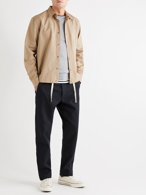 Bellerose Tapered Cotton-Twill Chinos