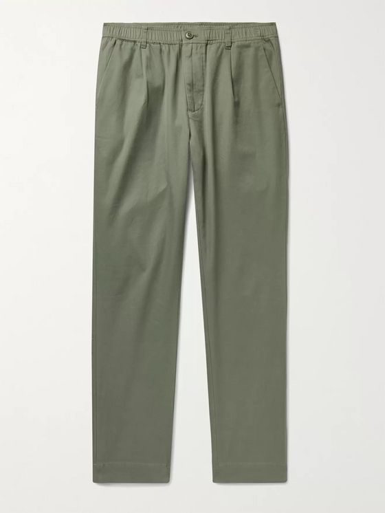 Bellerose Cotton-Twill Cargo Trousers